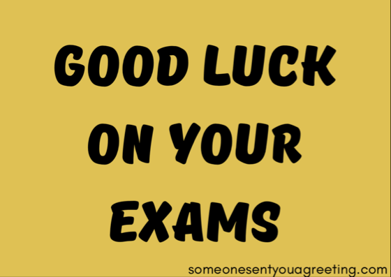 Good Luck On Your Exam Quotes: Good Luck Quotes And Wishes For Exams
