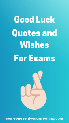 Good luck quotes and wishes for exams