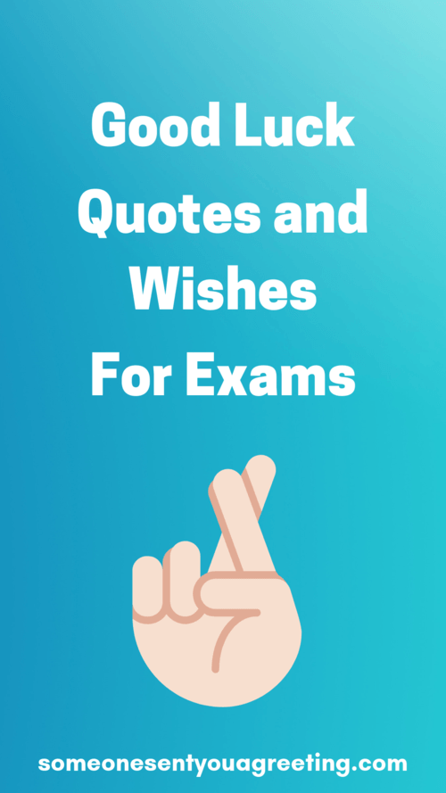 Good Luck Quotes Good Luck Quotes and Wishes for Exams   Someone Sent You A Greeting Good Luck Quotes