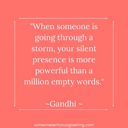 Inspirational Nursing Quote from Gandhi