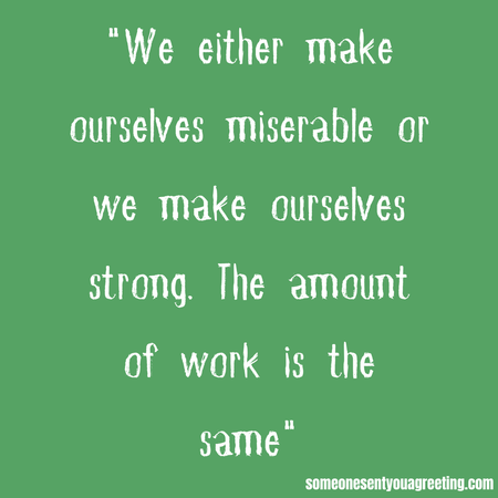 make ourselves strong mom quote