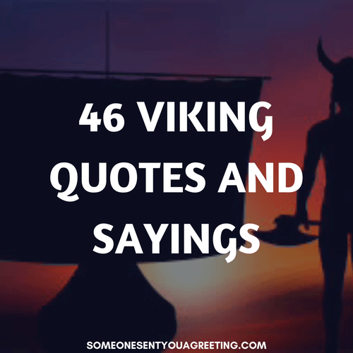 46 Viking Quotes and Sayings