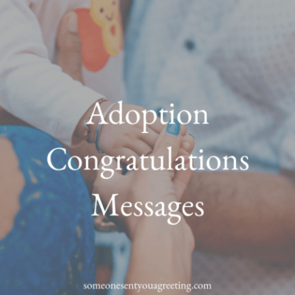 adoption congratulations messages