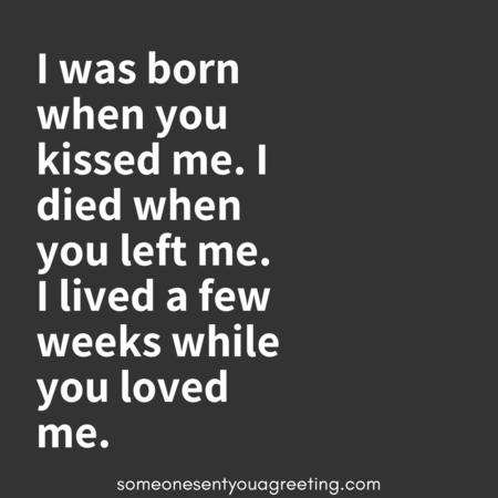 Short sad love quotes