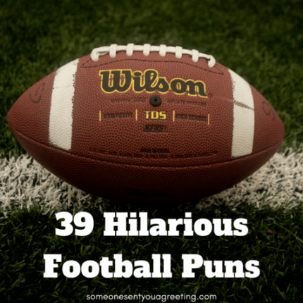 A huge list of football puns for parties, jokes, Instagram captions and other social media