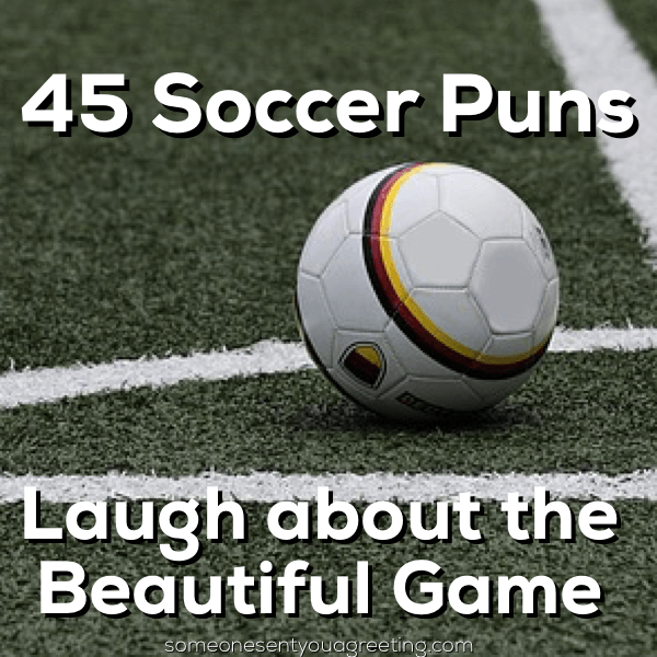 A huge list of soccer puns for parties, jokes, Instagram captions and other social media