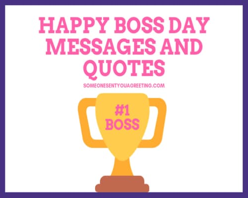 47 Happy Boss Day Messages and Quotes