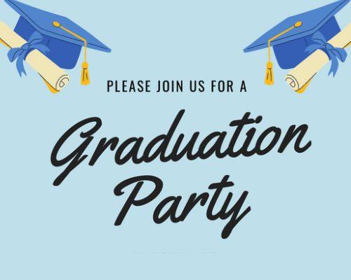 free printable graduation party invitation templates