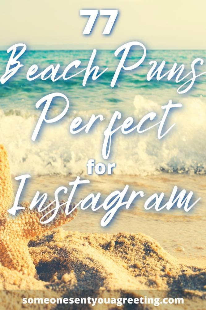 Beach puns for Instagram Pinterest small