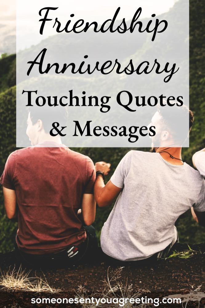 Friendship anniversary quotes and wishes pinterest small