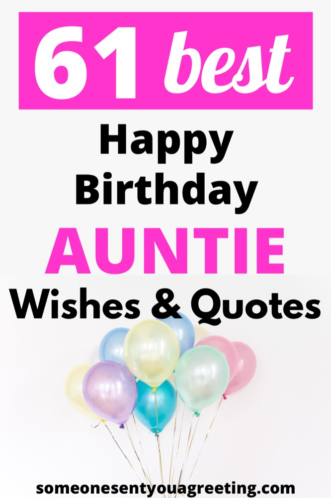 happy birthday auntie wishes pinterest small