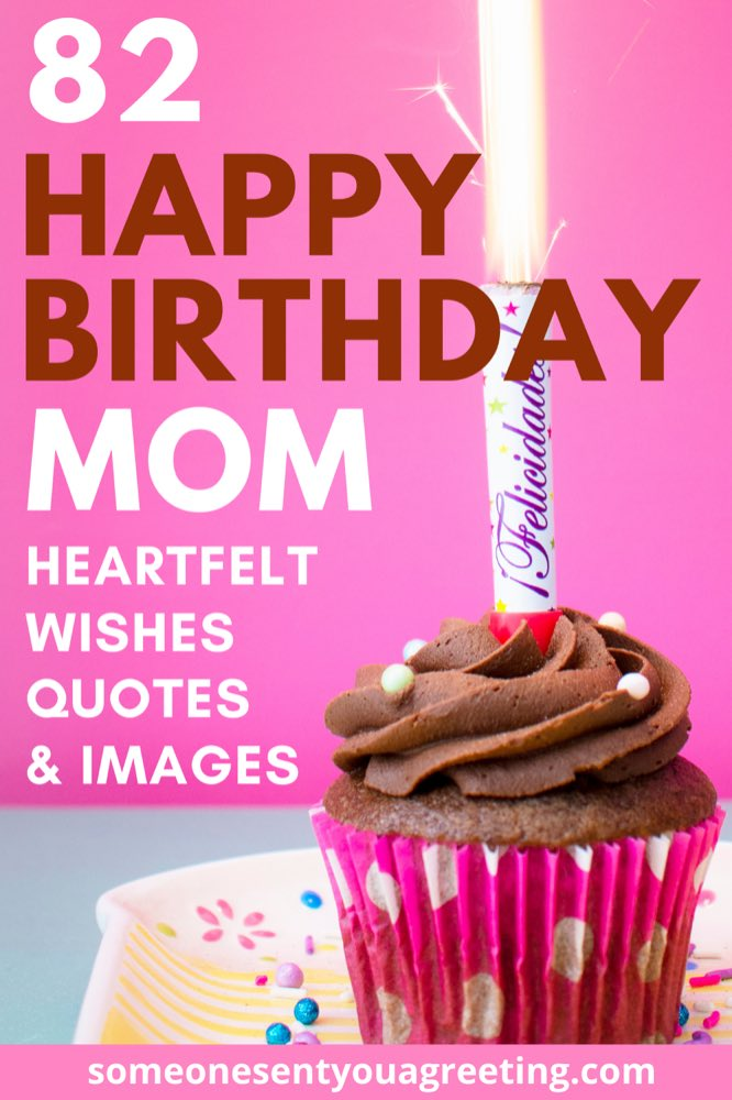 Happy birthday mom wishes Pinterest small
