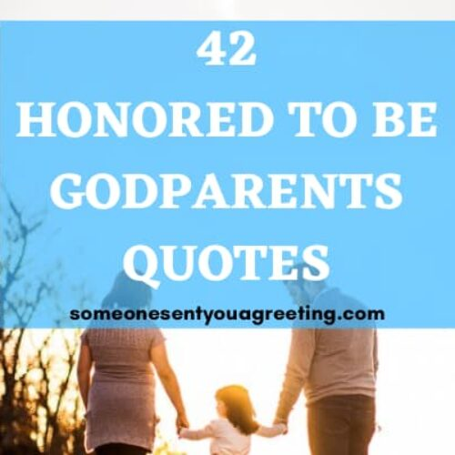 42 Honored to be Godparents Quotes