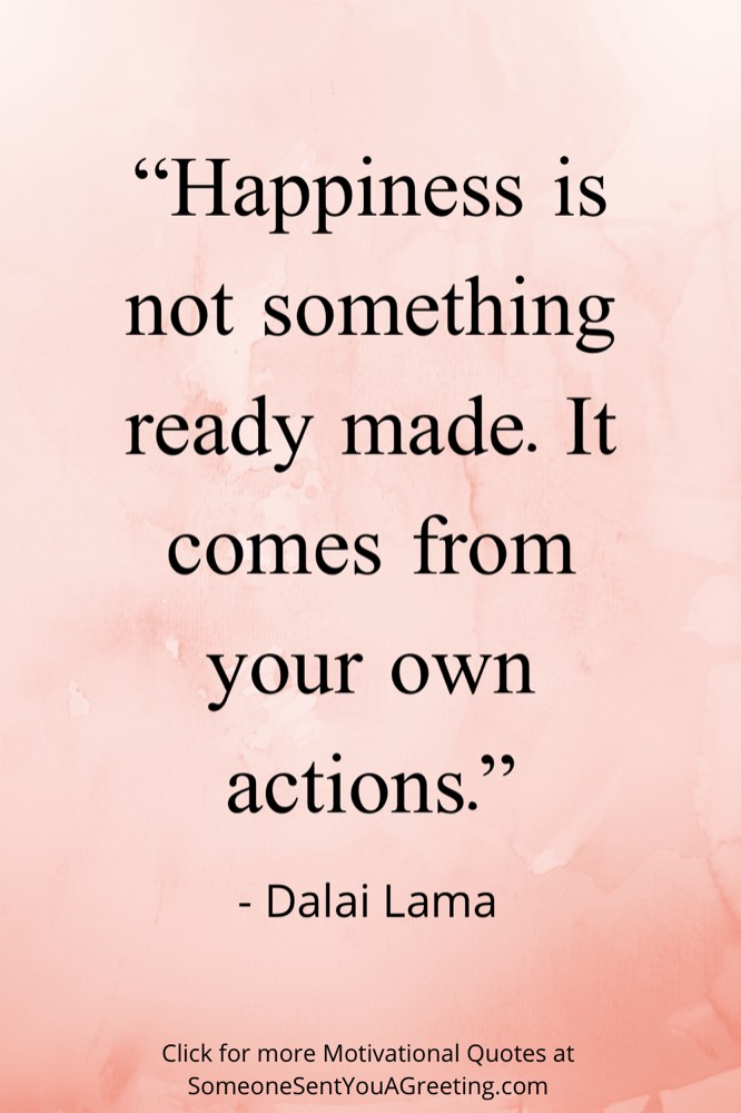Dalai Lama motivational quote of the day