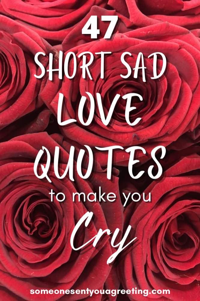 short sad love quotes pinterest small