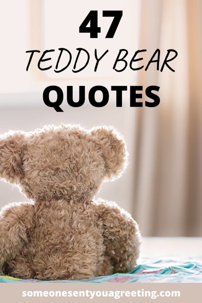 teddy bear quotes and images