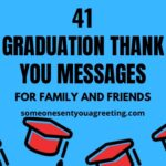 graduation thank you messages for family and friends