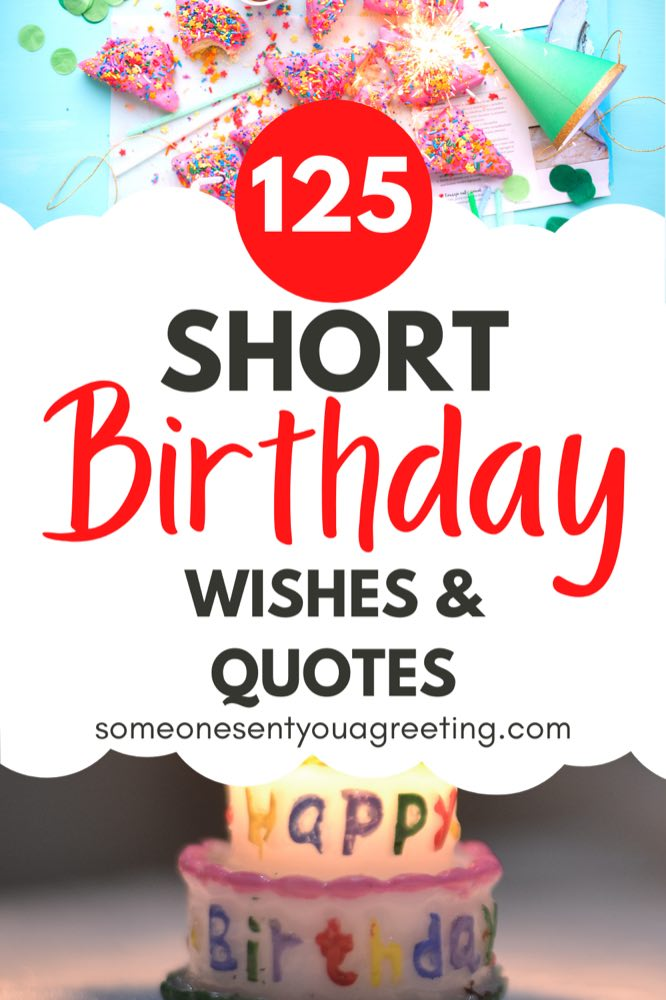 Short birthday wishes and quotes pinterest small