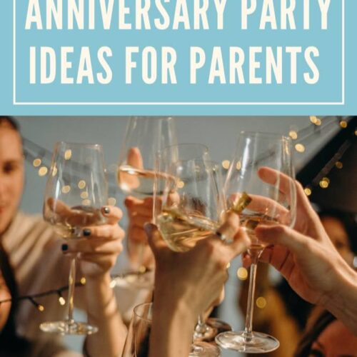 60th Wedding Anniversary Party Ideas for Parents