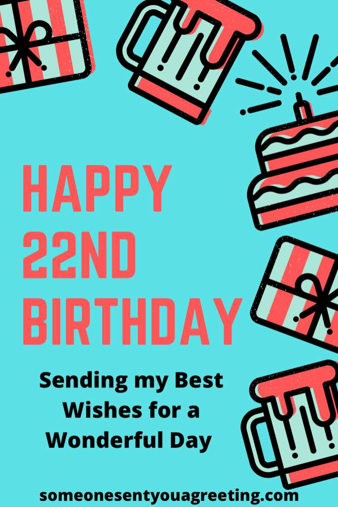 best wishes for 22nd birthday