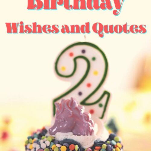 Happy 2nd Birthday Wishes and Quotes