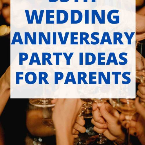 35th Wedding Anniversary Party Ideas for Parents