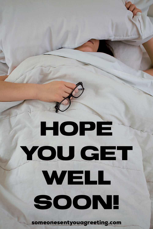 get well soon colleague