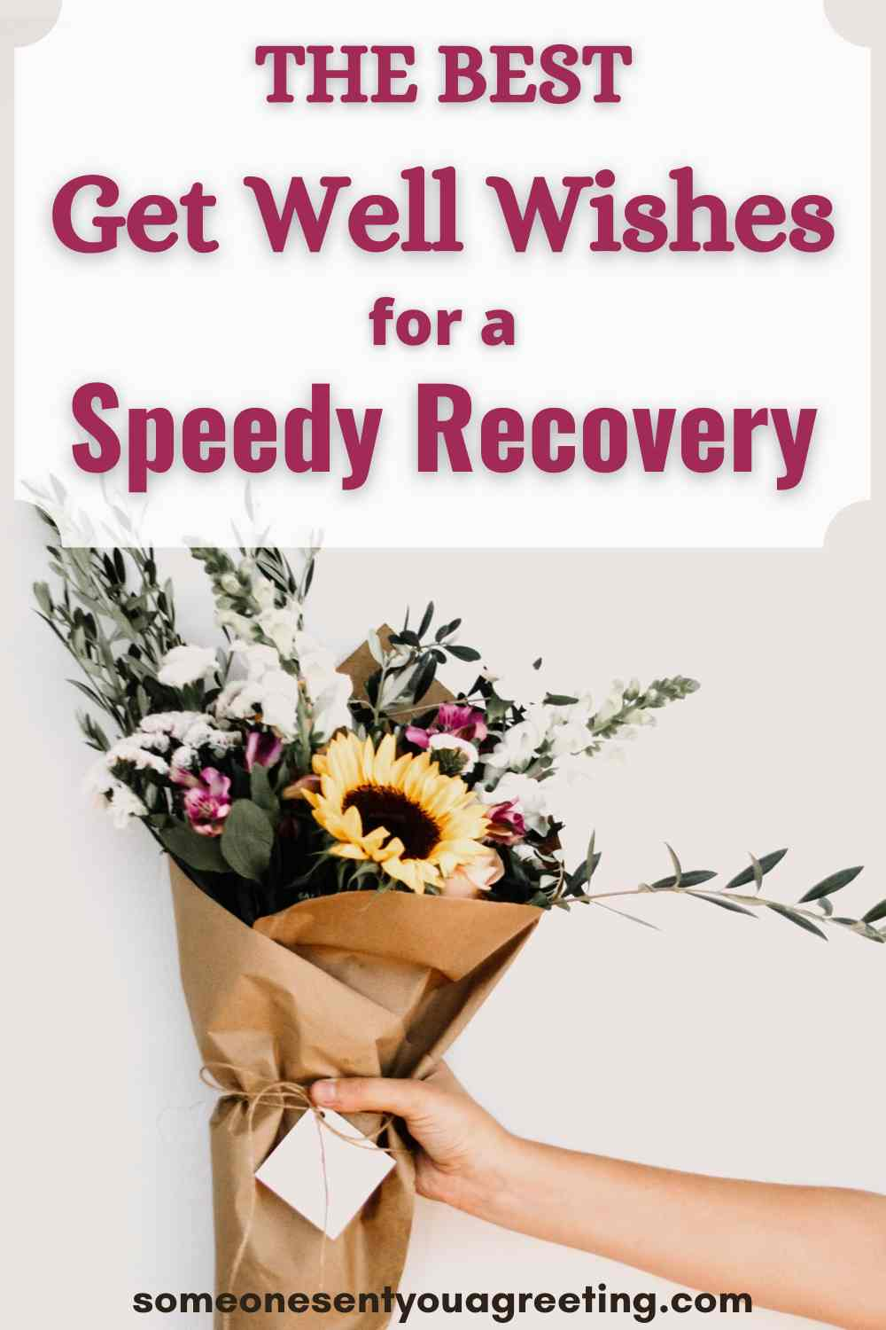 get well wishes for a speedy recovery