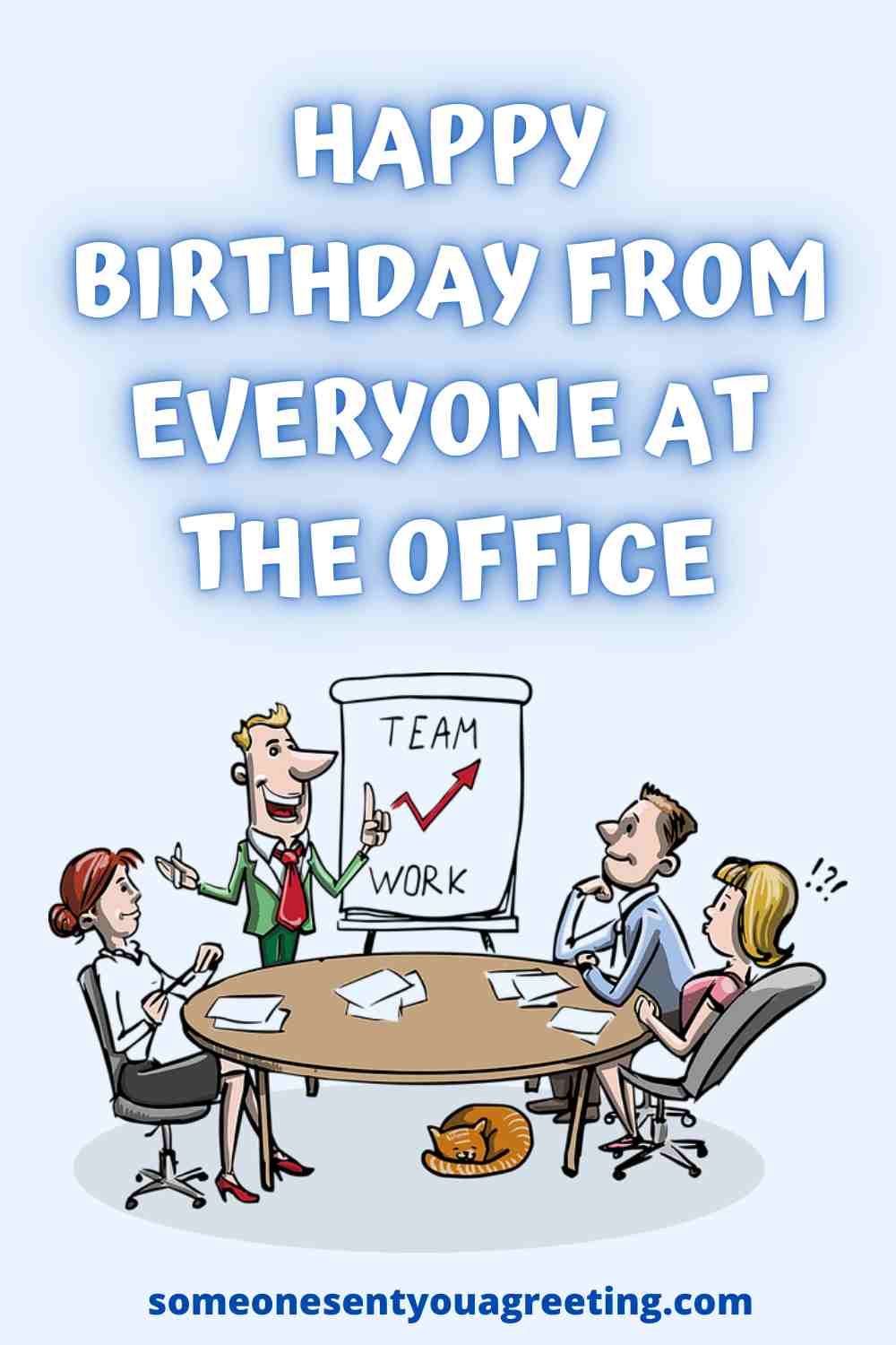happy birthday from everyone in the office