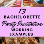 Bachelorette party invitation wording examples