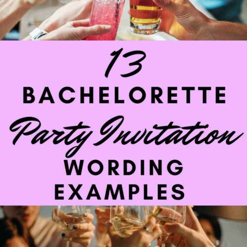 The 13 Best Funny Bachelorette Party Invitation Wording Ideas