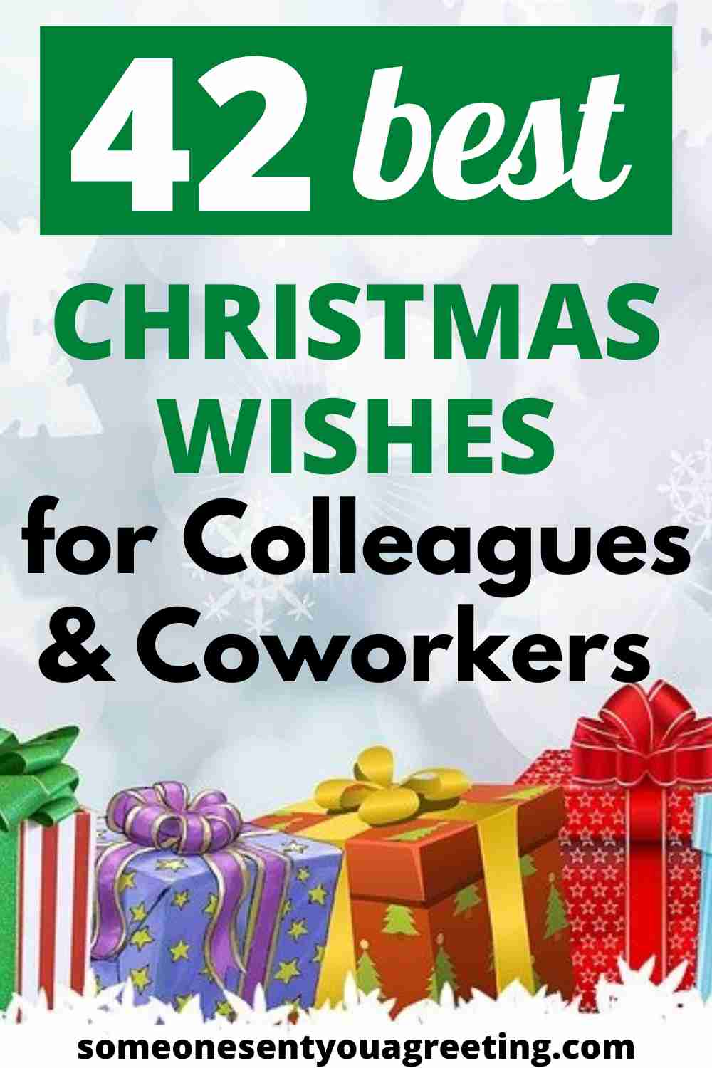 Christmas wishes for colleagues and coworkers