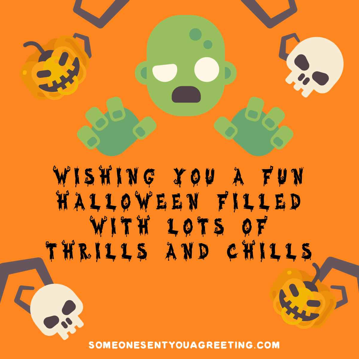 funny Halloween message for facebook