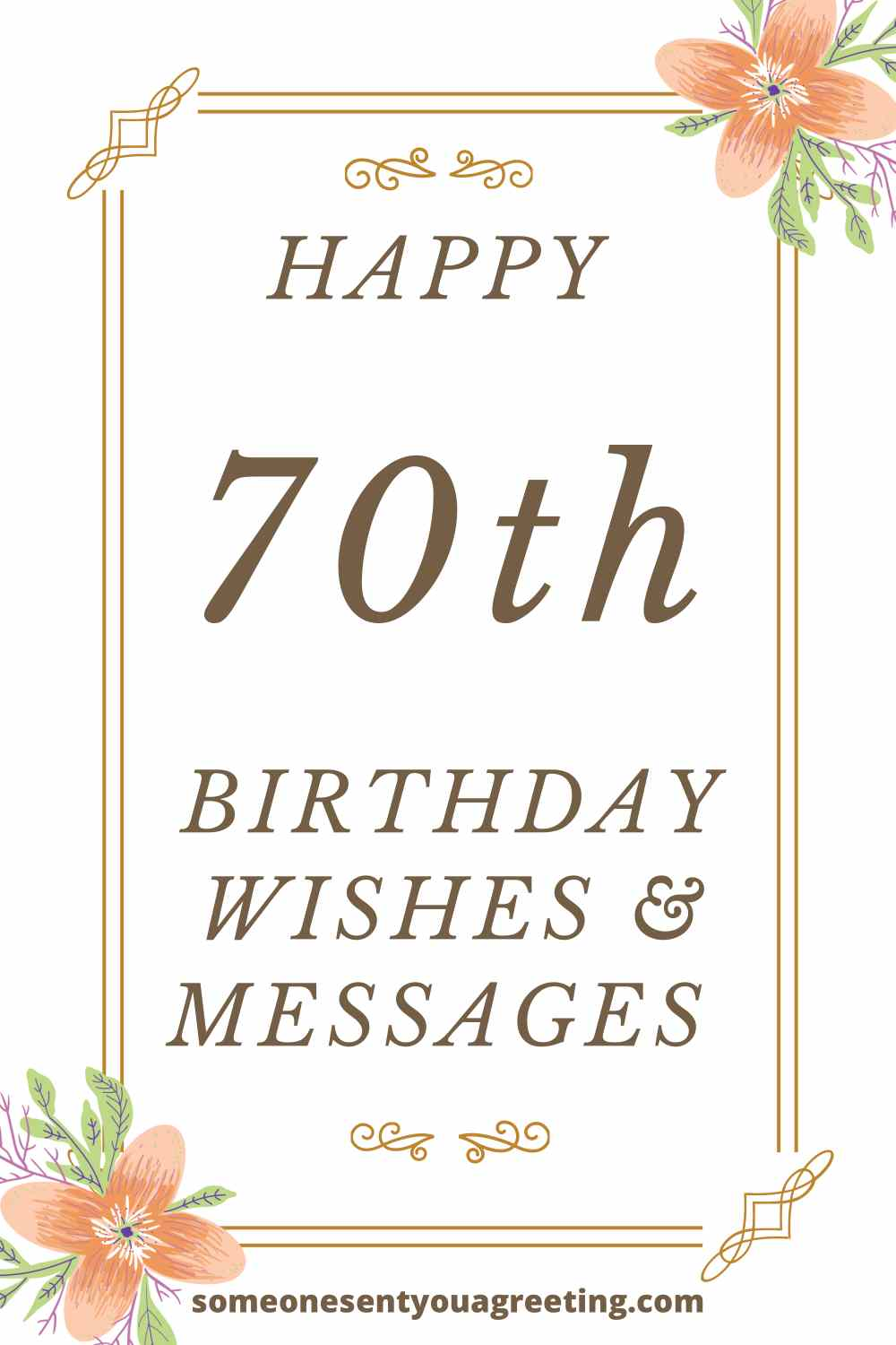 happy 70th birthday wishes and messages