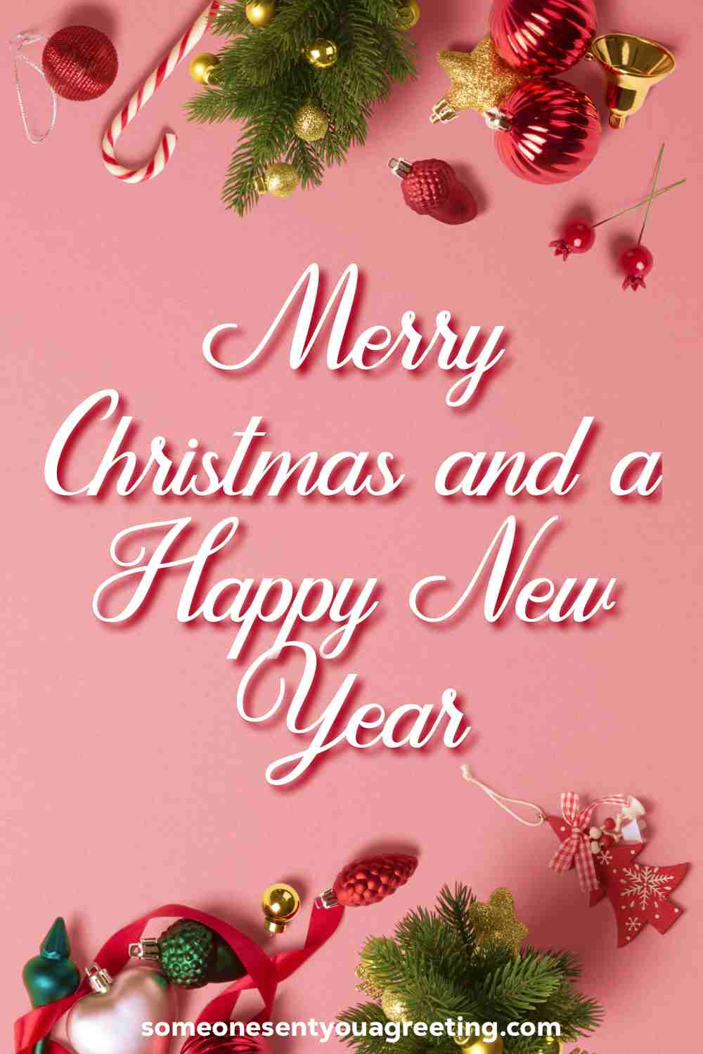 Merry Christmas message for Facebook