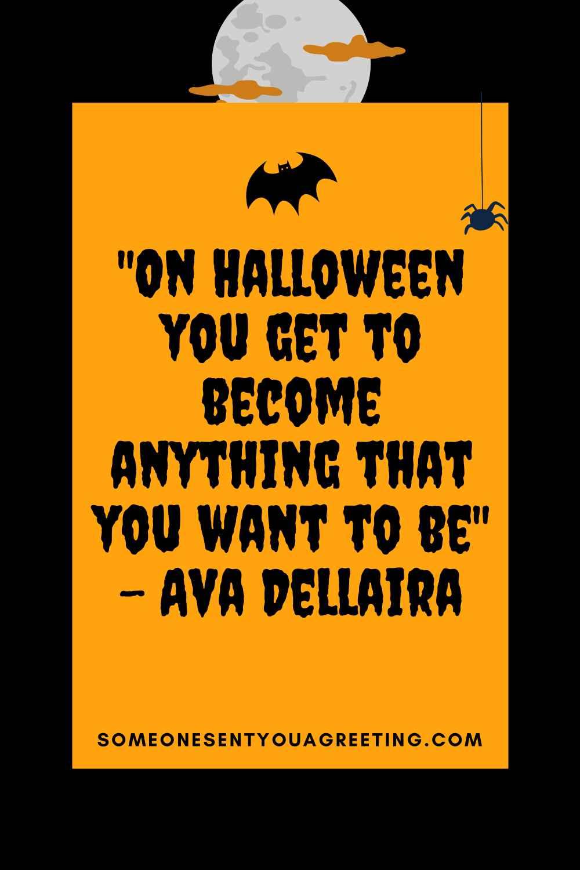 Short Halloween quote