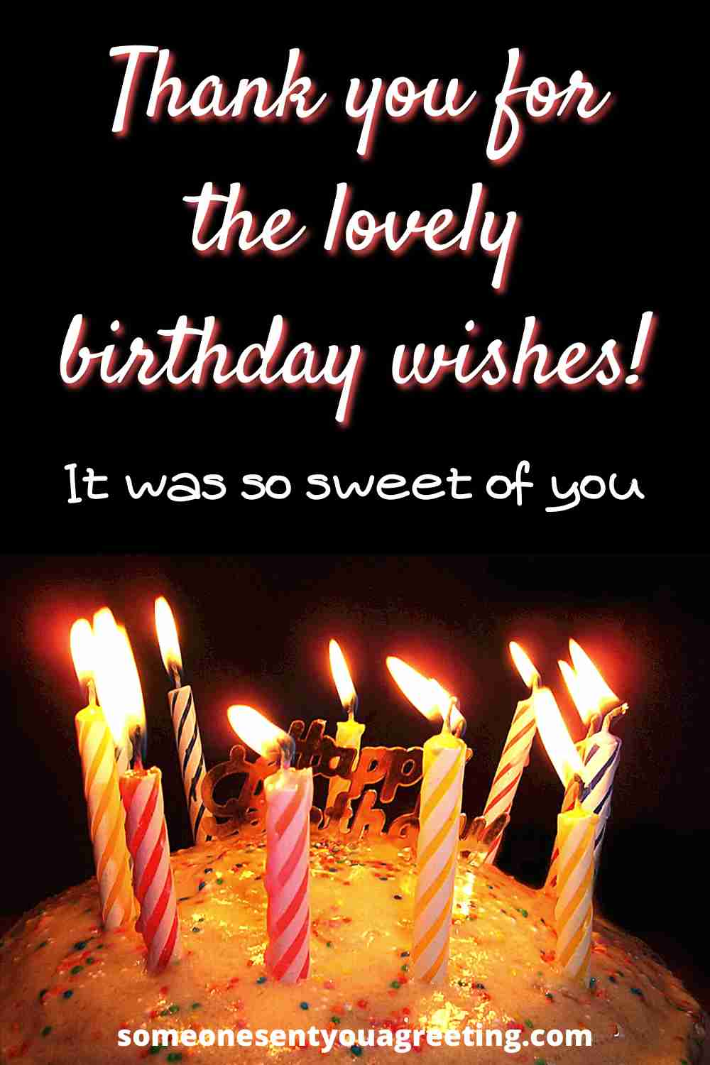 sweet birthday wishes thank you