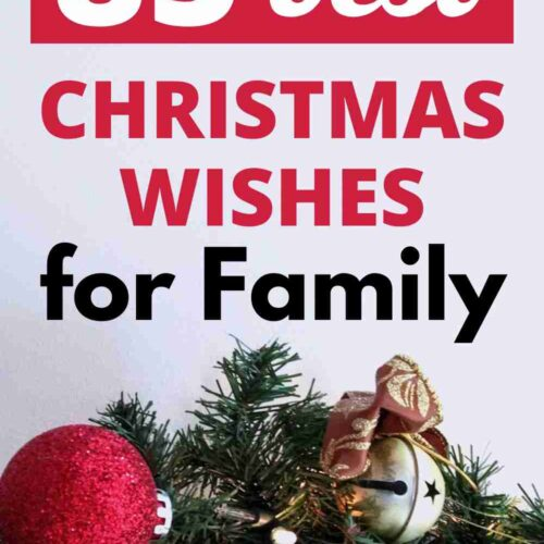 85 Christmas Wishes for your Family