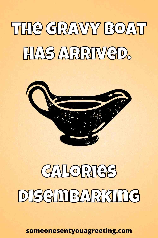 funny gravy thanksgiving pun