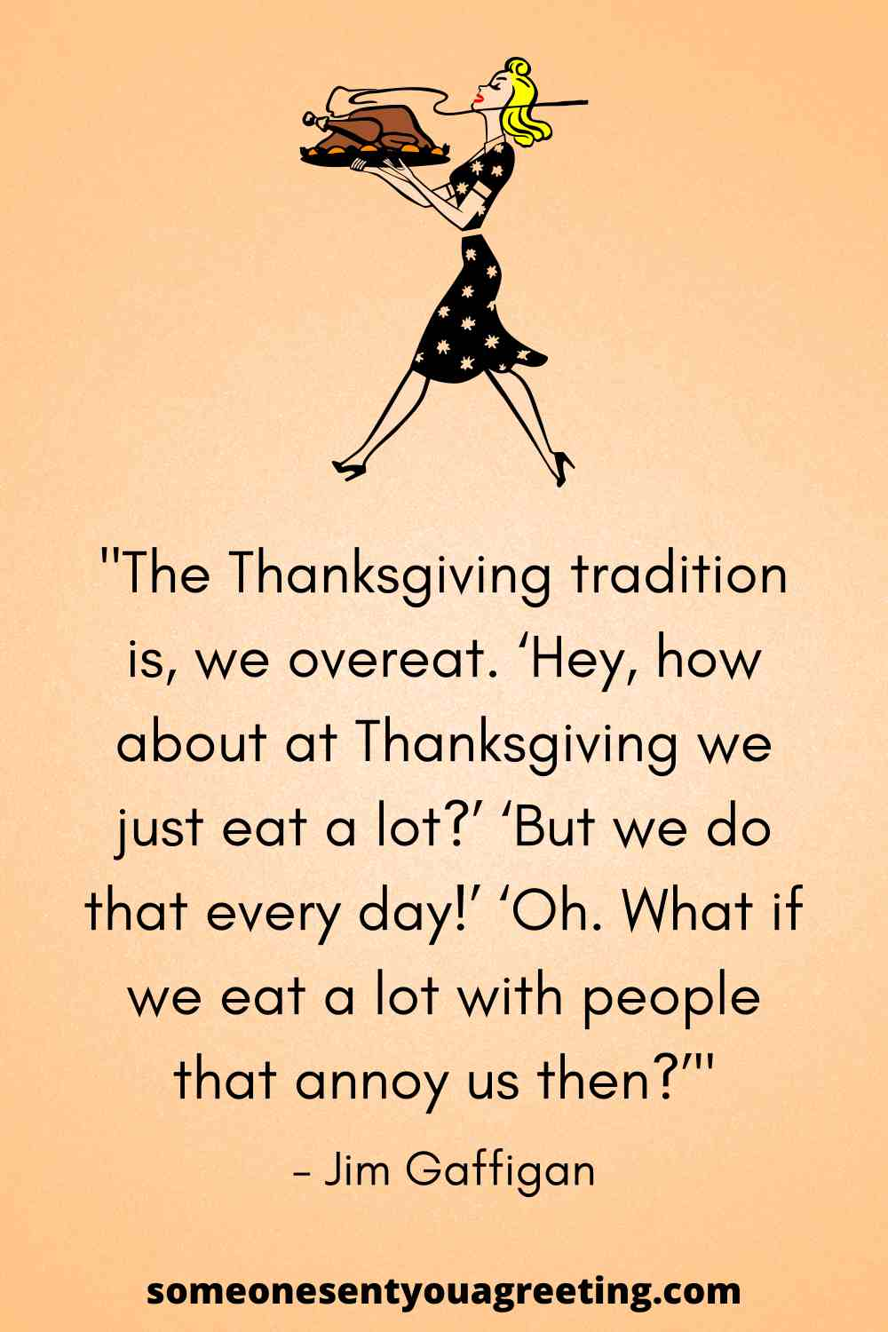 funny thanksgiving quote