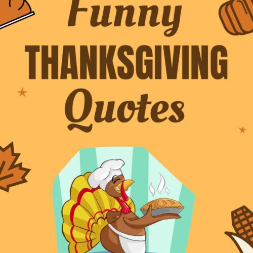 Funny Thanksgiving Quotes to Share with Friends and Family