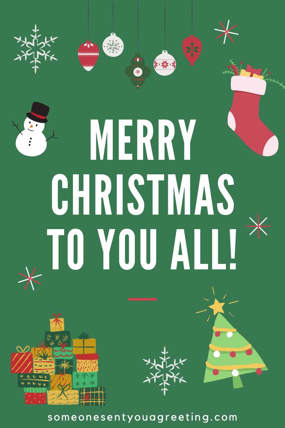 Merry Christmas to all in family
