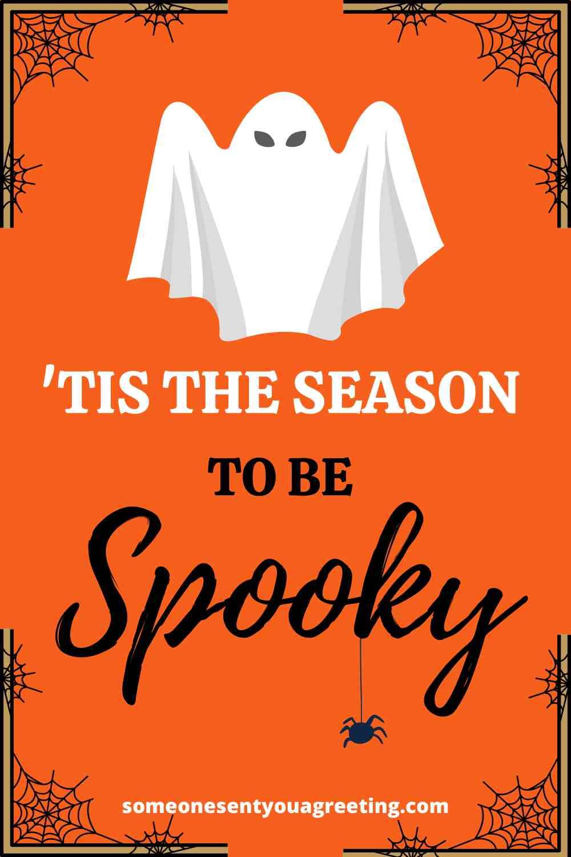 spooky Halloween greeting