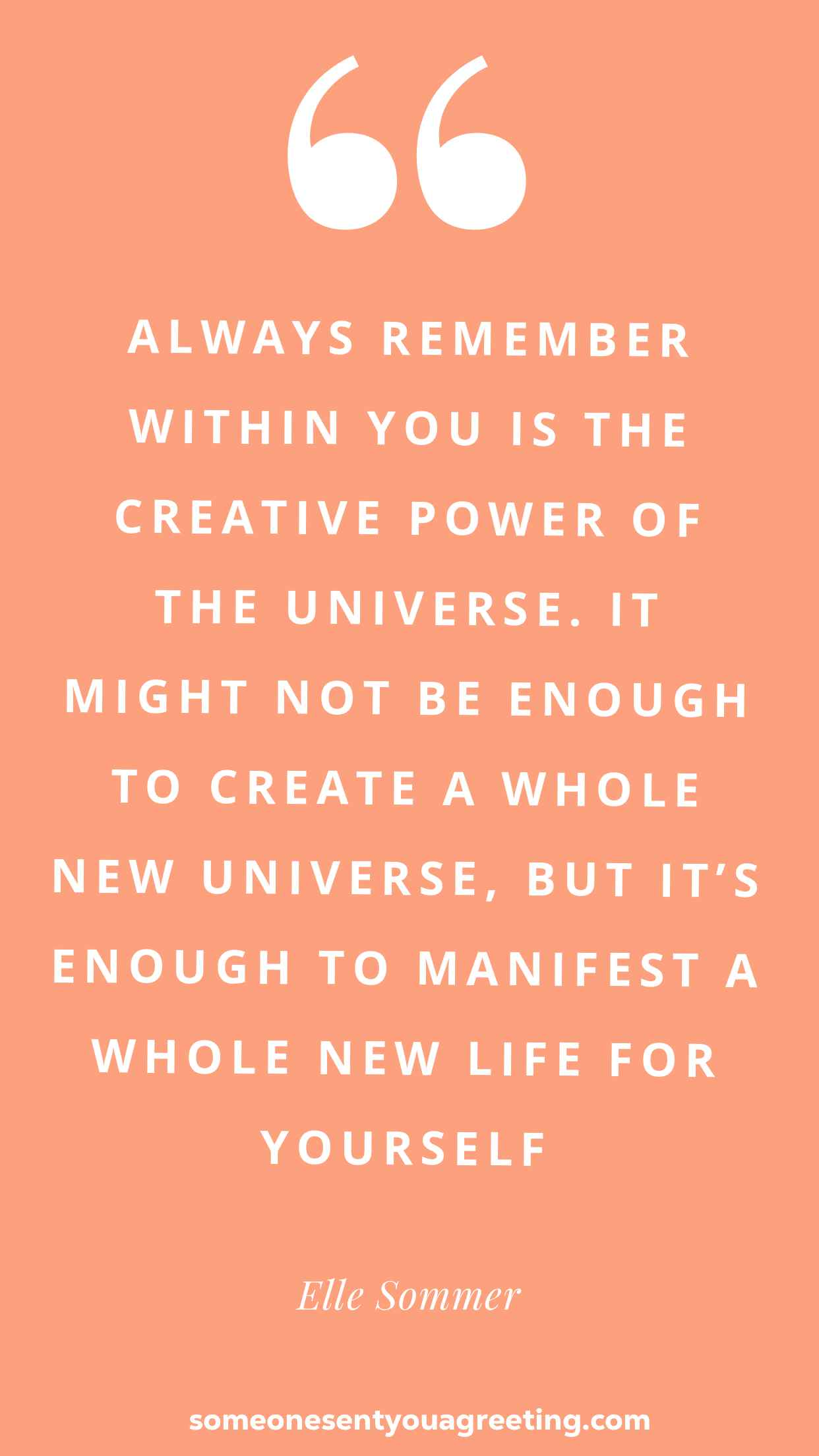 Elle sommer power quote