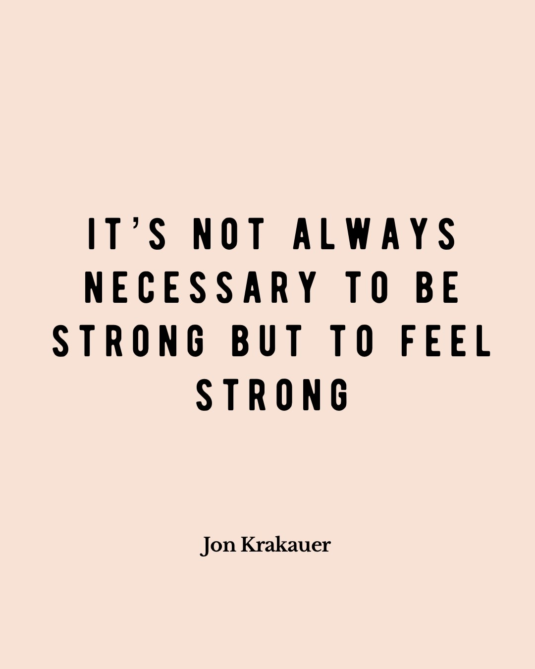 feel strong empowerment quote