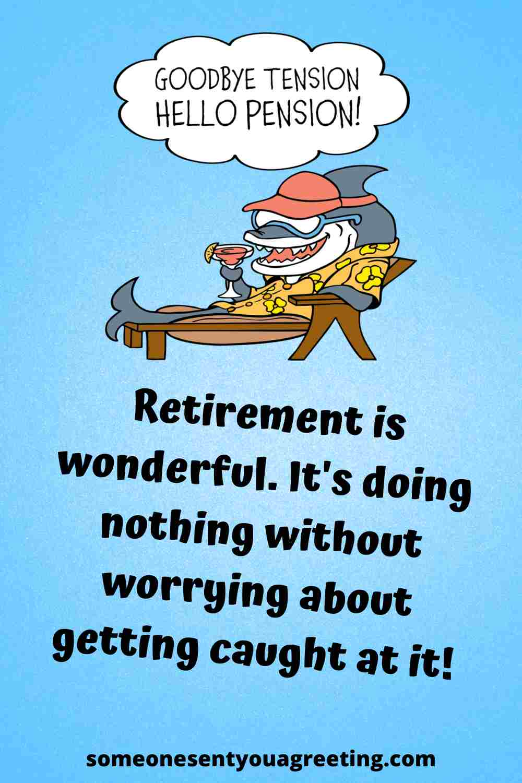 funny retirement quote