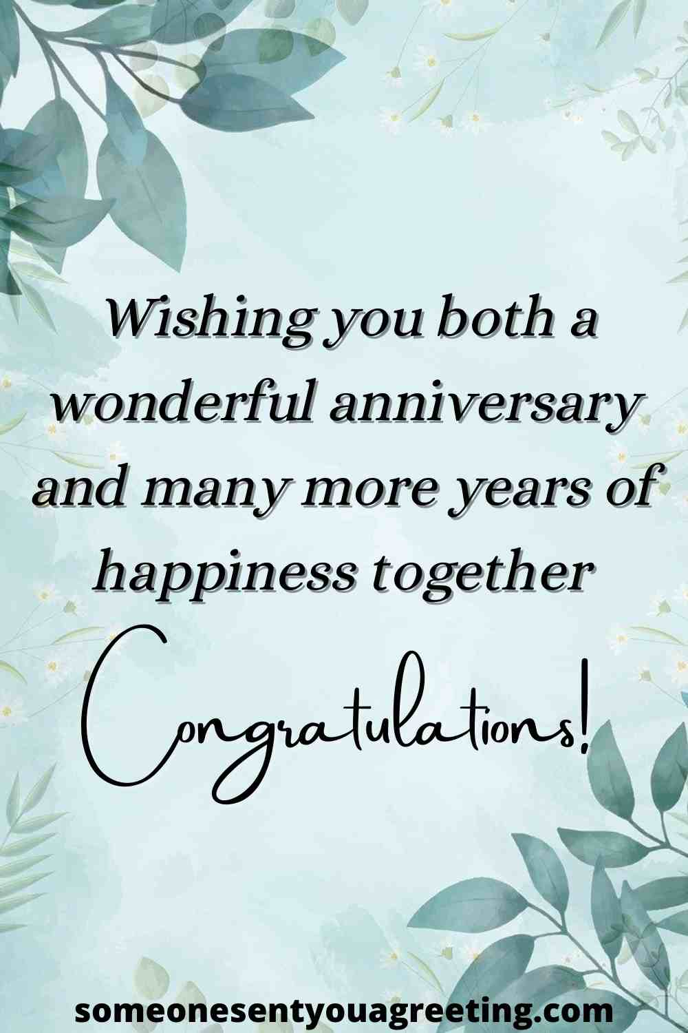 happy anniversary message for friends