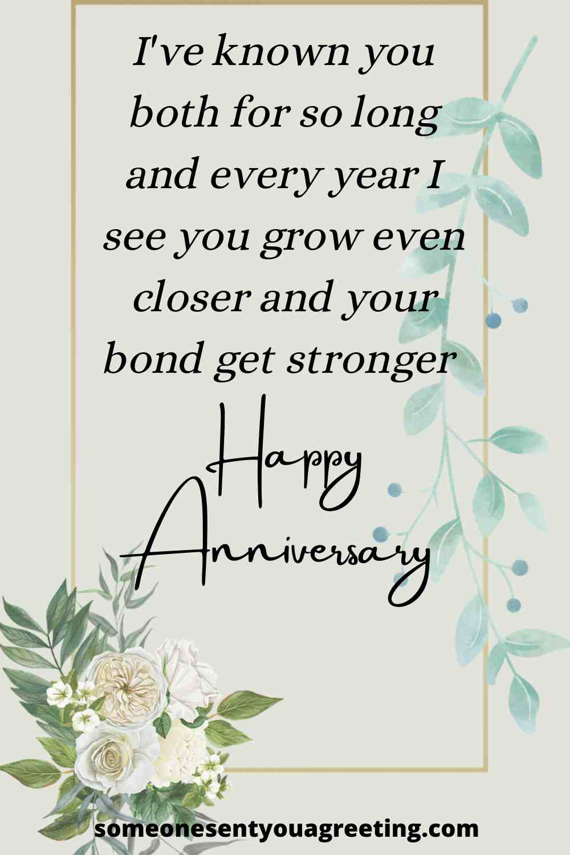 happy anniversary to my friends